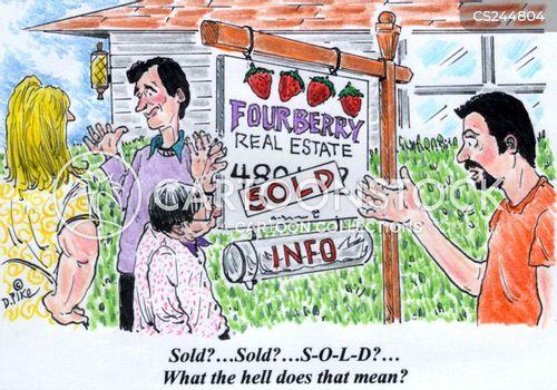 residential cartoon