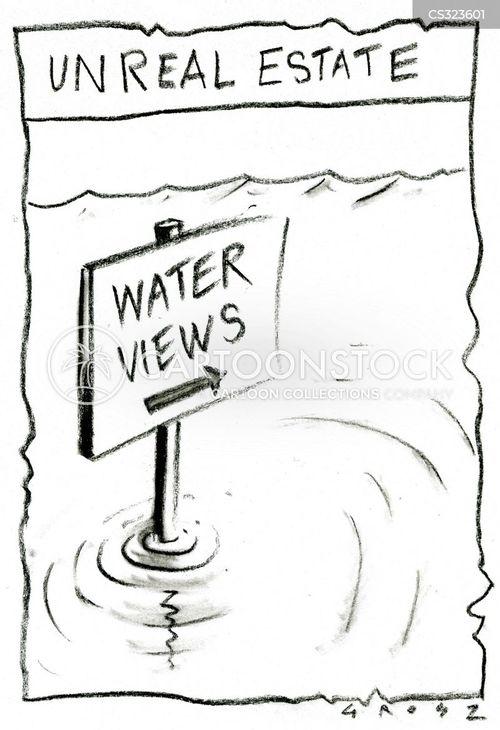 water view cartoon