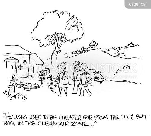 cheap house cartoon