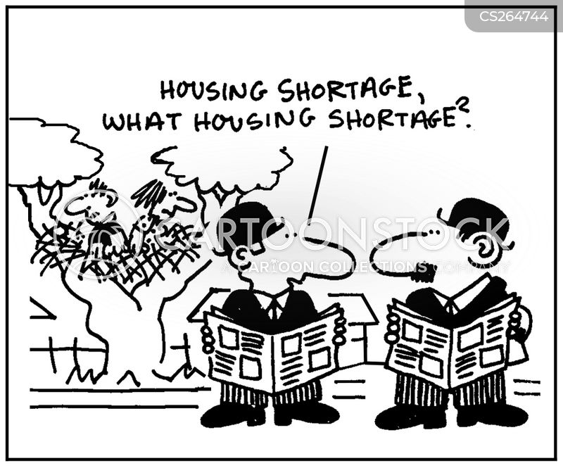 housing officer cartoon