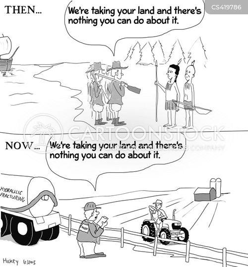 hydrofracking cartoon