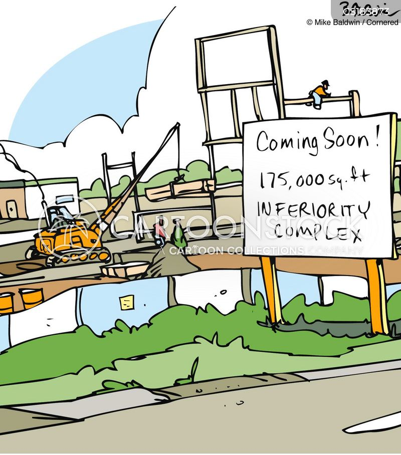 urban sprawl cartoon