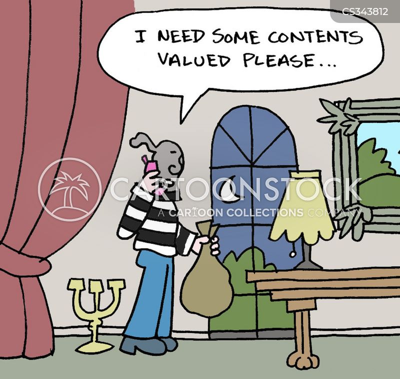 Contents Insurance Cartoons And Comics