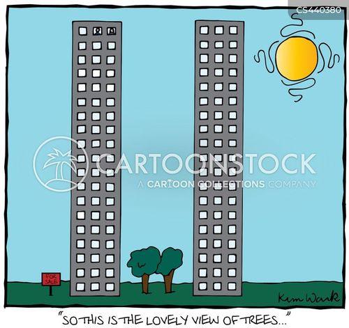 tower block cartoon
