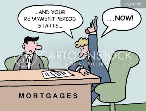 repayments cartoon