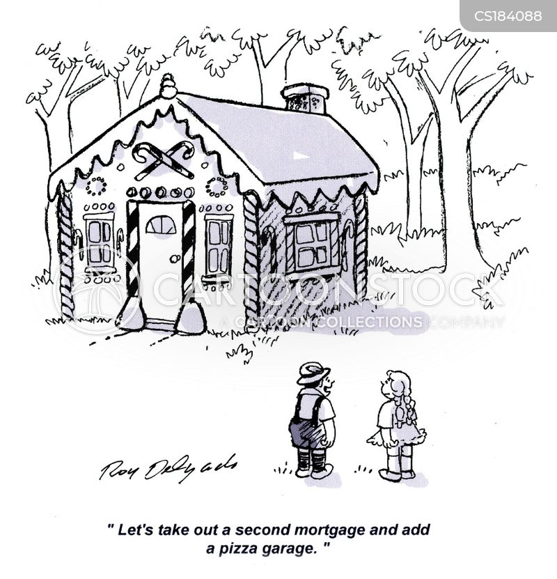 second mortgages cartoon