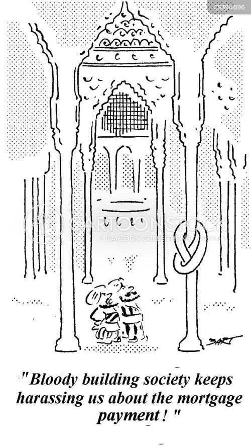 house market cartoon