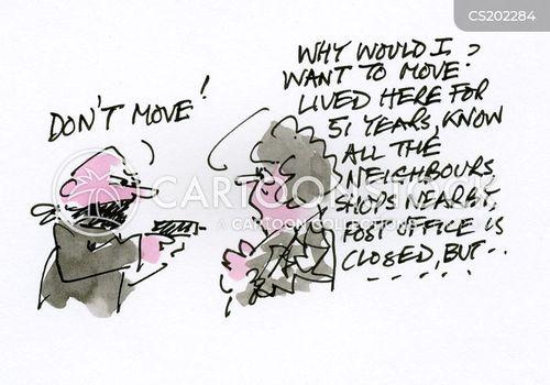 mover cartoon