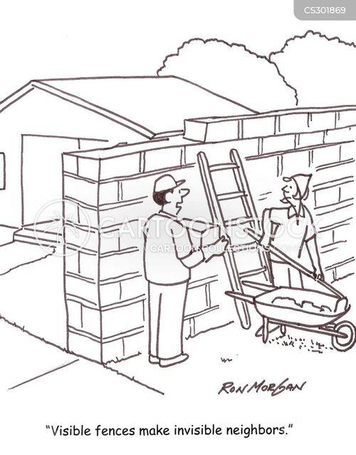 new neighbors cartoon