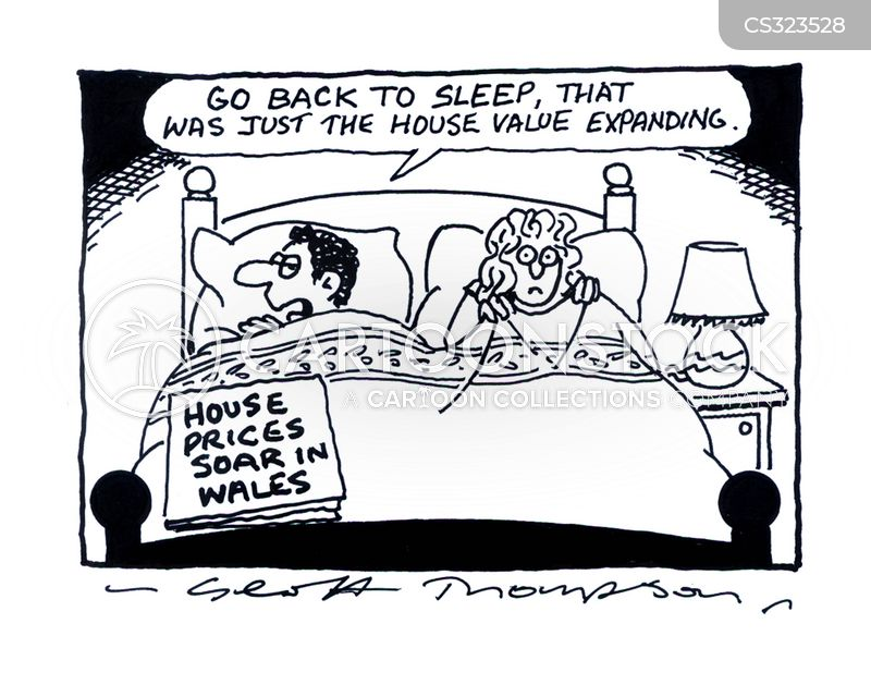 Rising House Prices Cartoon 1 Of 3