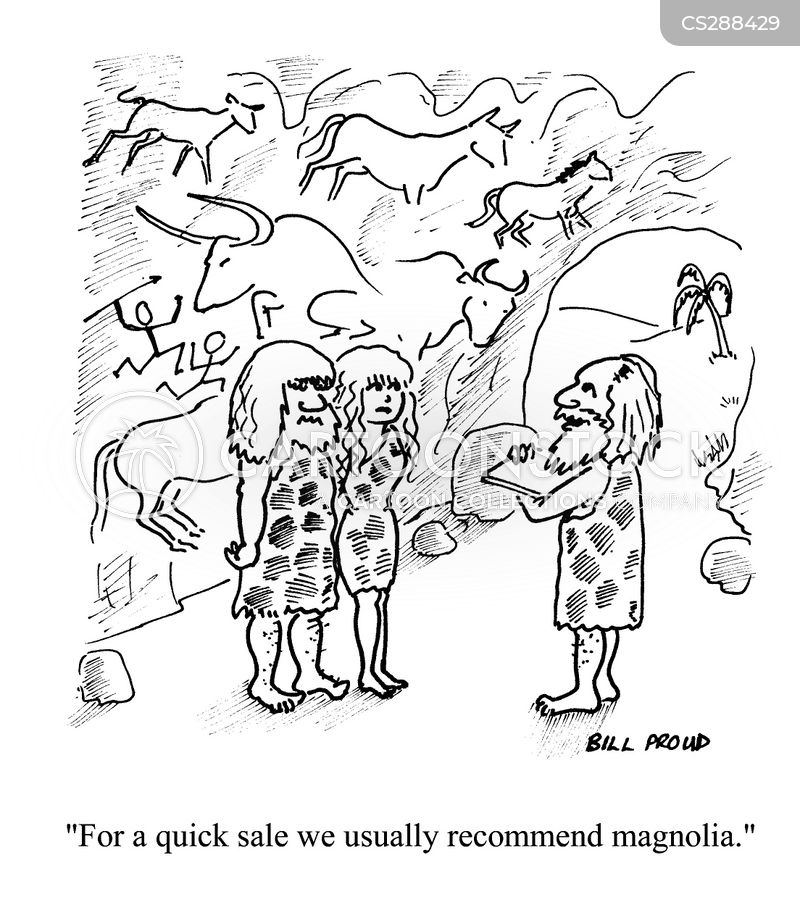 magnolia cartoon