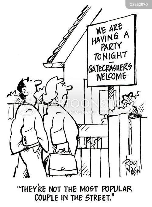 party invitations cartoon