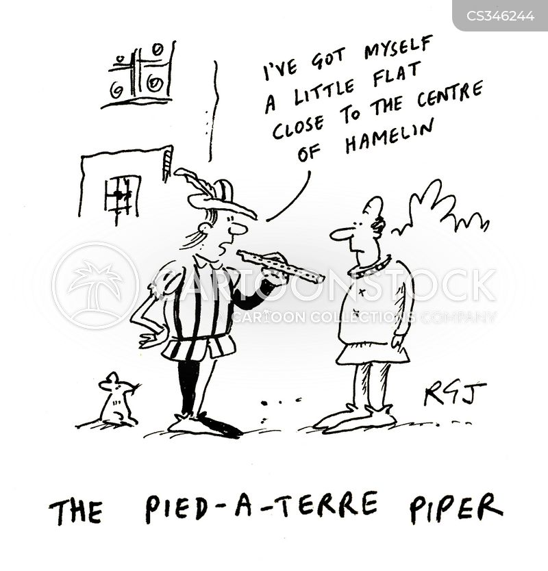 pied pipers cartoon