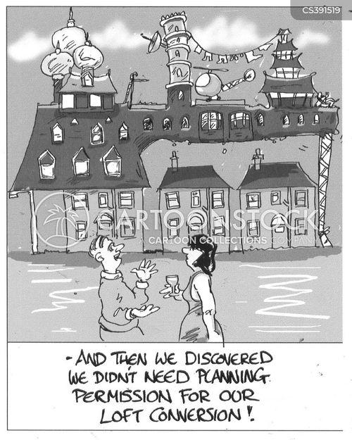 annoying neighbors cartoon