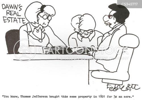 louisiana purchase cartoon