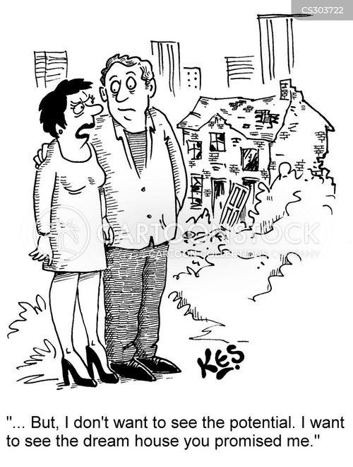 dream homes cartoon