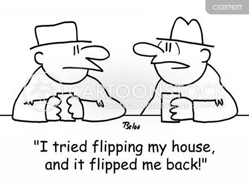 flipped cartoon