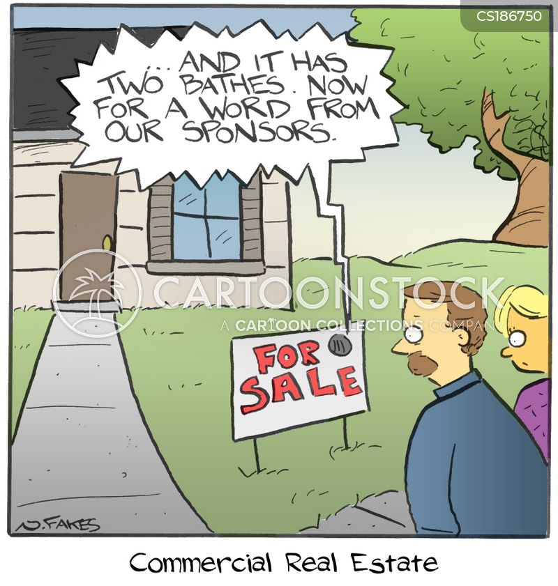 selling itself cartoon