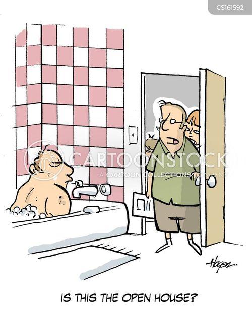 open house cartoon