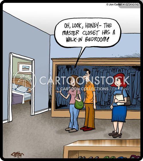 housing ladders cartoon