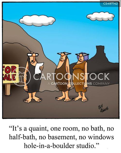real estate broker cartoon