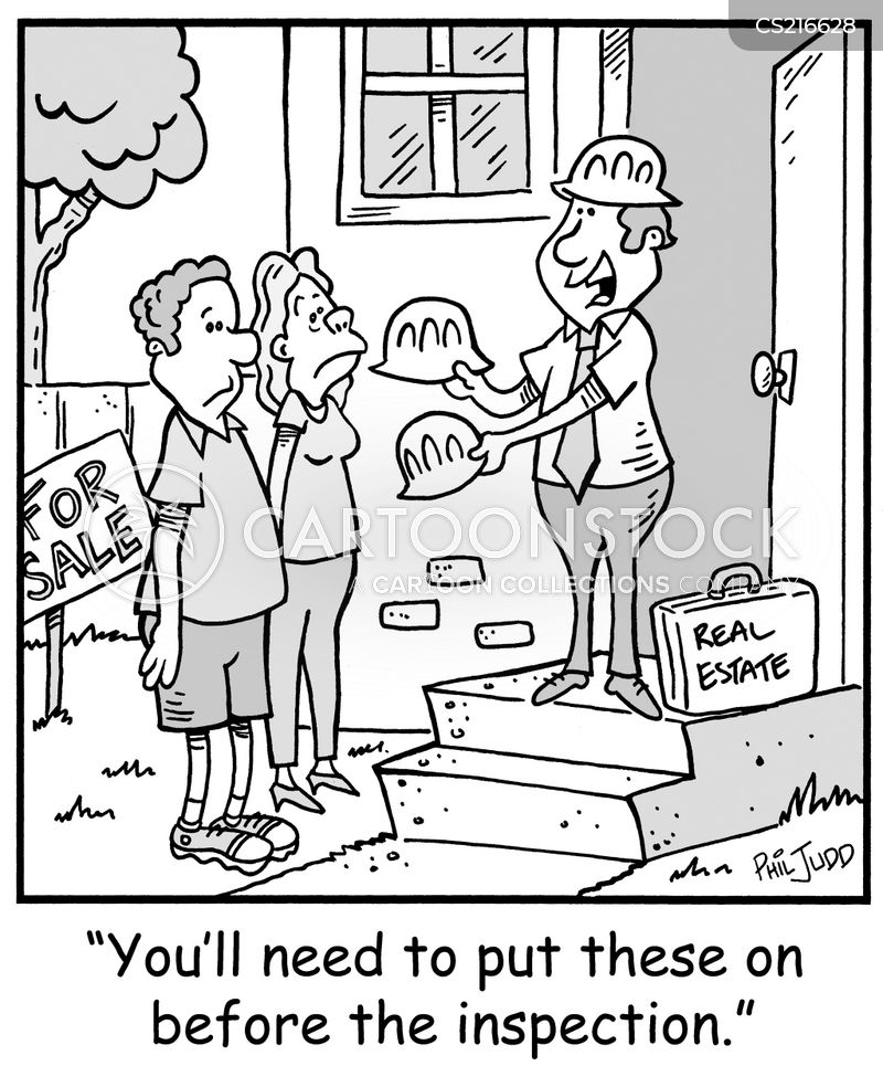 Safe Housing Cartoons and Comics - funny pictures from CartoonStock