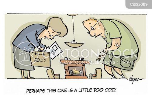 cozy cartoon