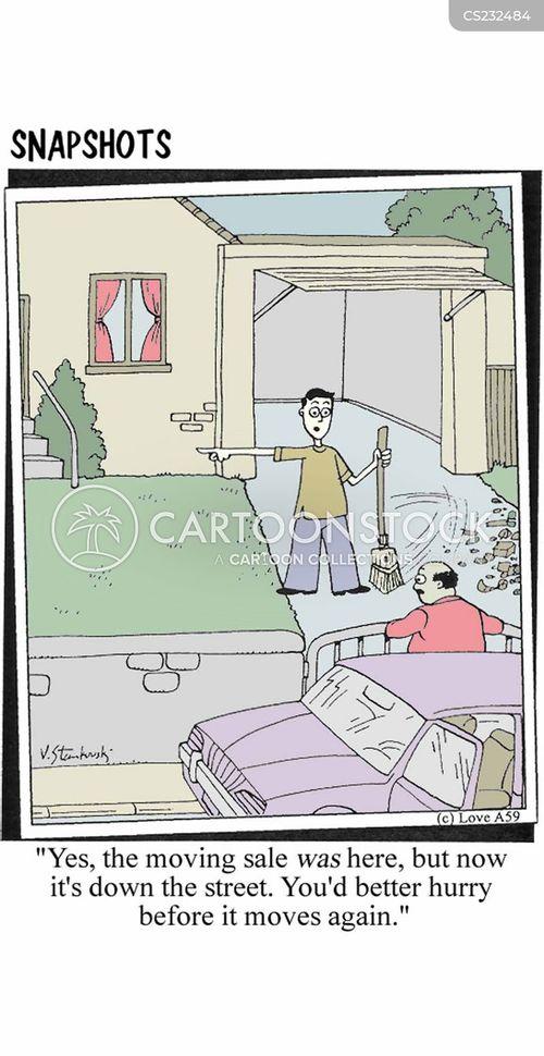 belongings cartoon