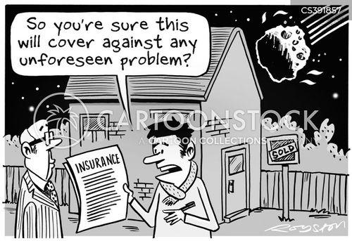 unforeseen cartoon