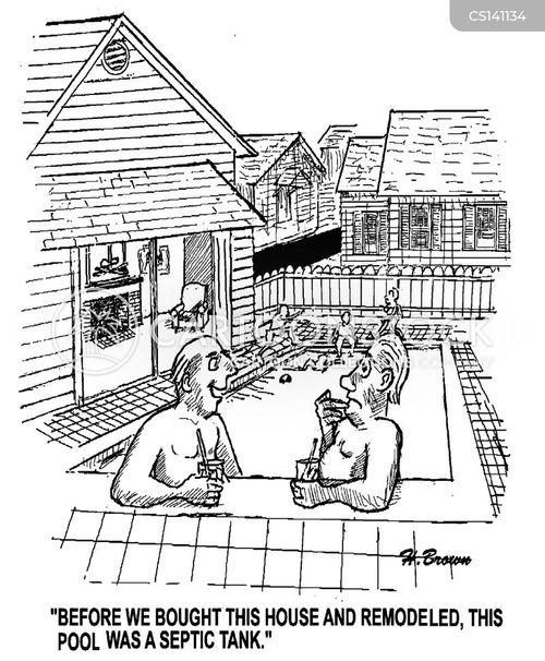 septic tanks cartoon