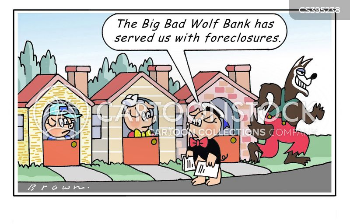 repossession cartoon