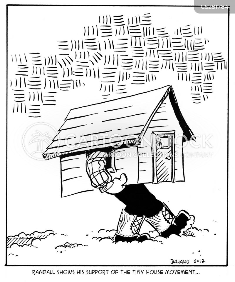 Tiny House Movement Cartoon 1 Of