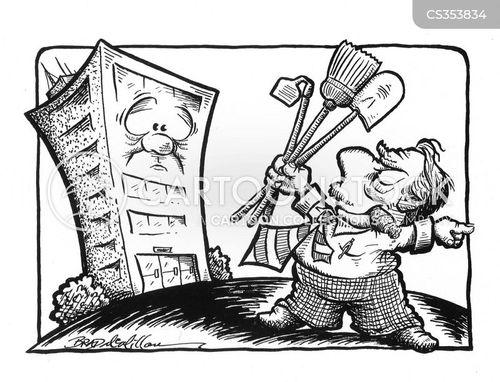 gardening tool cartoon