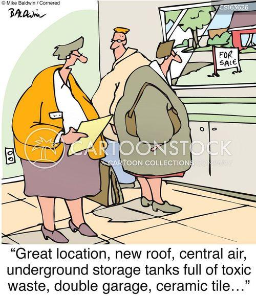 buying a home cartoon