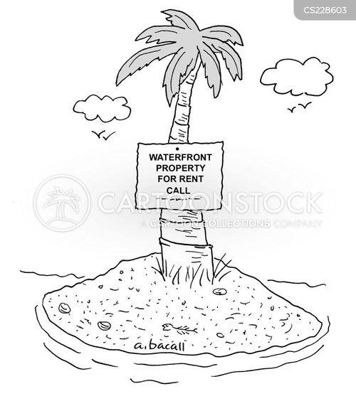 sea views cartoon
