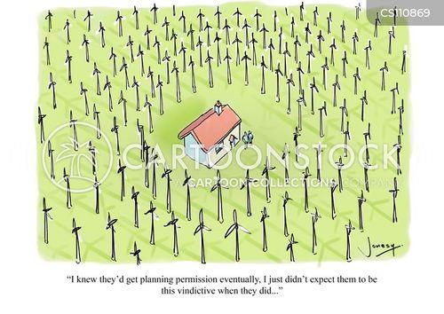 planning permission cartoon