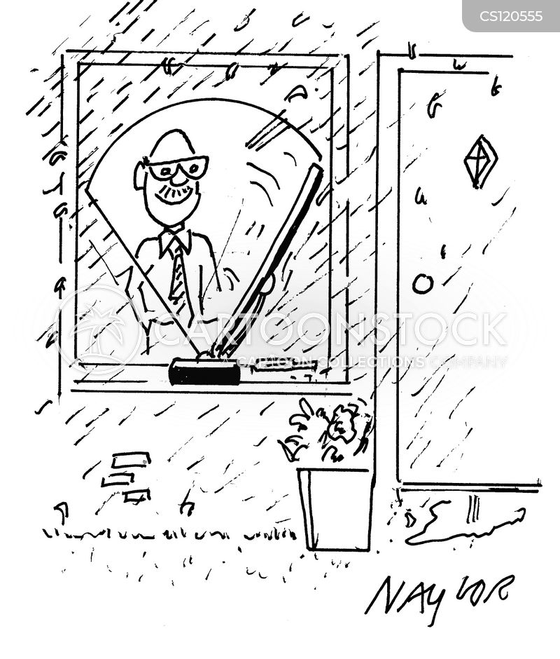 window wipers cartoon
