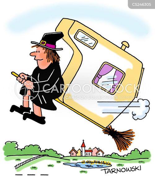 portable home cartoon