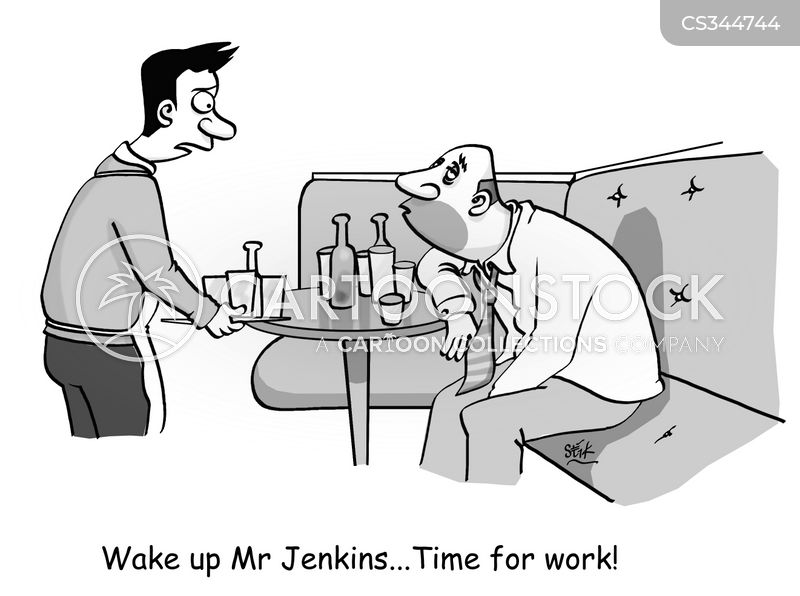 twenty four hour drinking cartoon