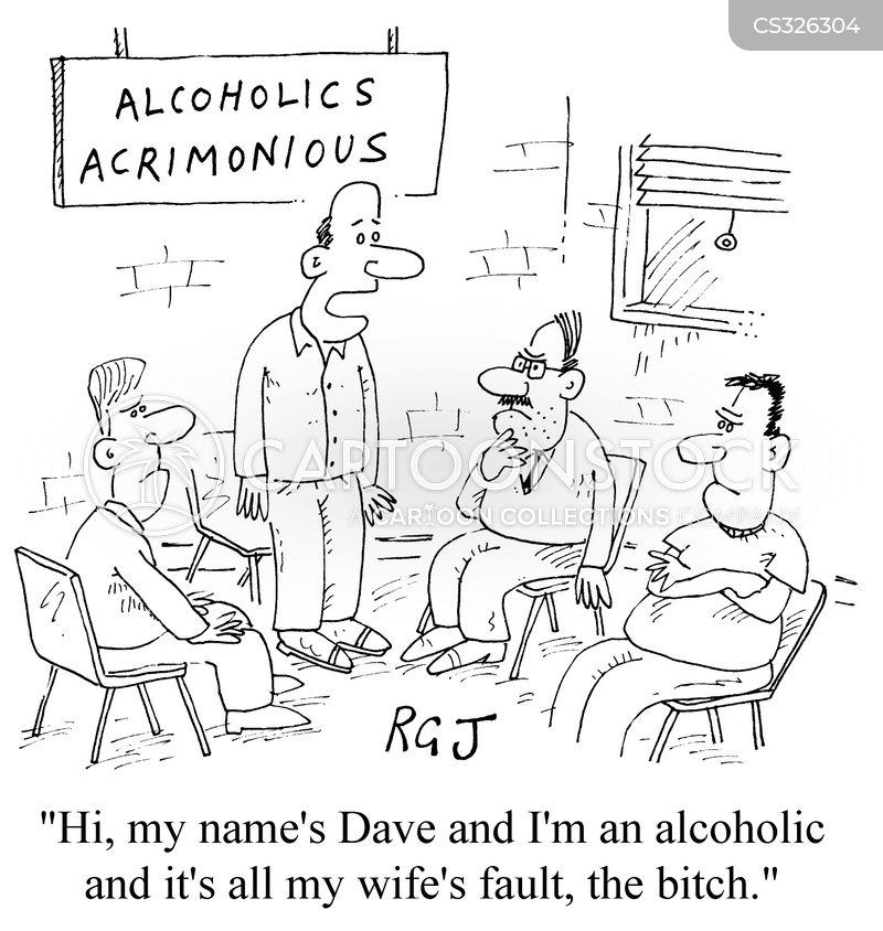 acrimonious cartoon