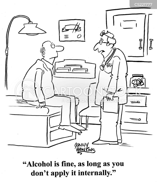 doctor visits cartoon