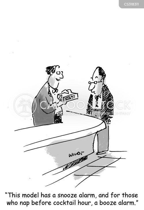 cocktail hour cartoon