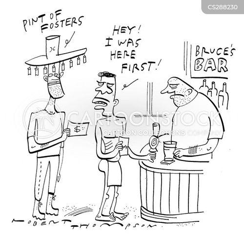 here first cartoon