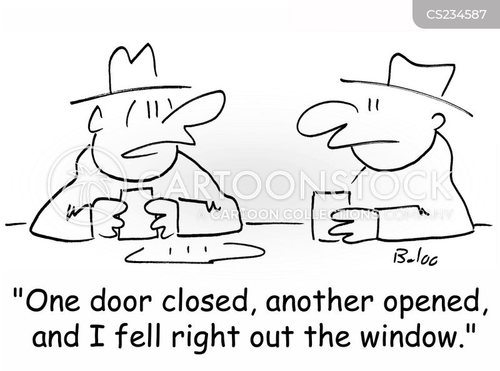 One Door Closes cartoon 2 of 4  sc 1 st  CartoonStock & One Door Closes Cartoons and Comics - funny pictures from CartoonStock