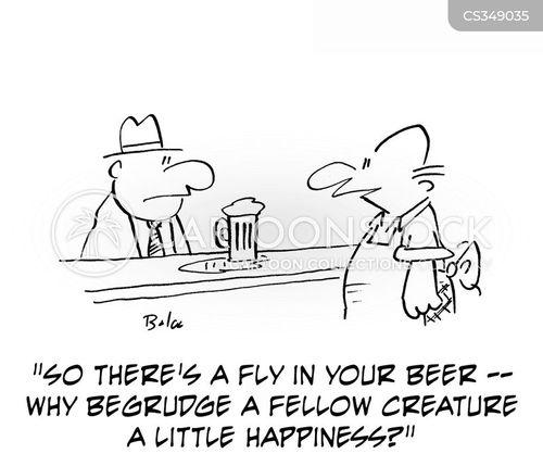 unhappy customers cartoon