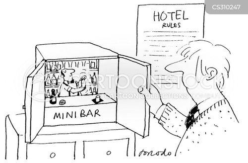 mini bars cartoon
