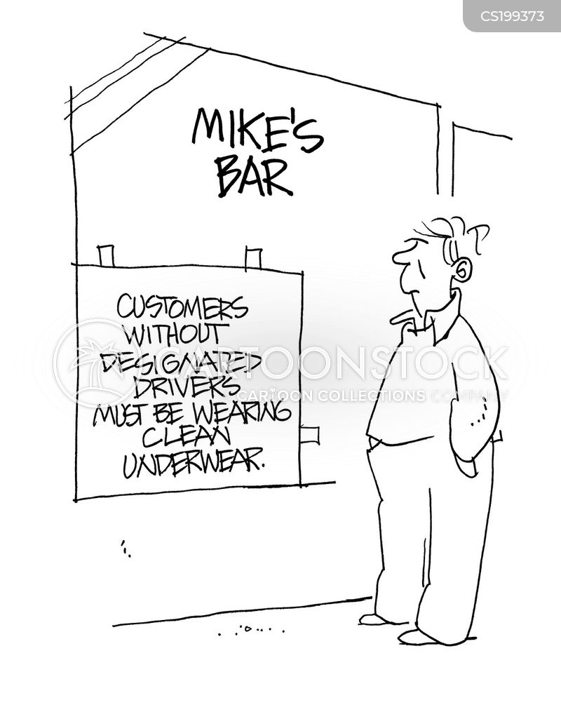 designated drivers cartoon