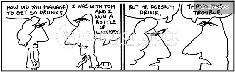 teetotal cartoon