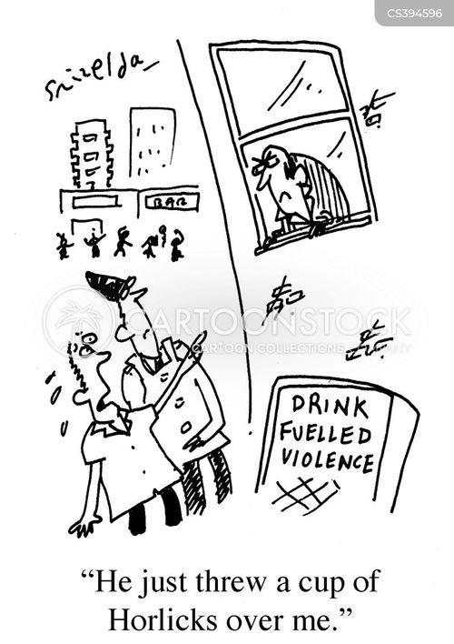 drinking culture cartoon