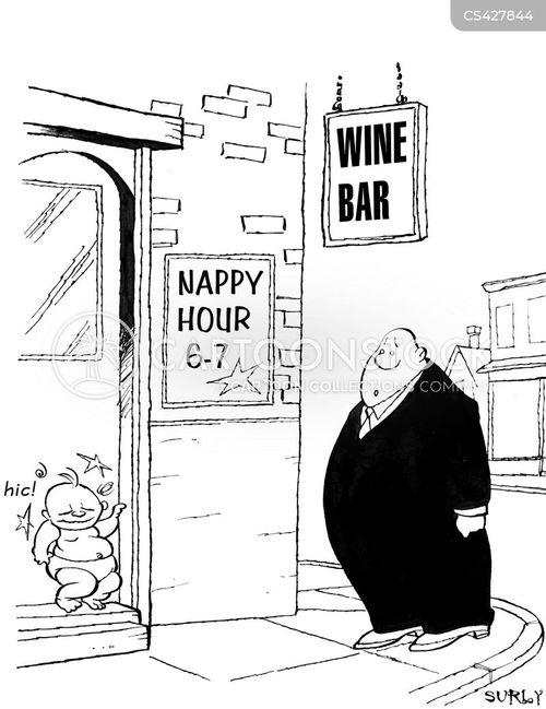 boozing cartoon
